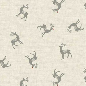 Makower Scandi 1967:S Reindeer Grey