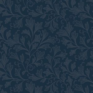 Windham Backing 32680-3 Blue Fan Floral