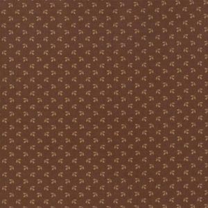 Betsy Chutchian Harriets Handwork Chocolate Fud 31574 22 Moda