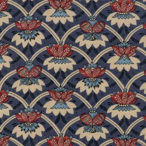 French General Vive la France Indigo for Moda 13832 14