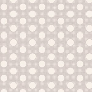 Tilda 110 Medium Dots Light Grey