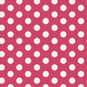 Tilda 110 Medium Dots Red