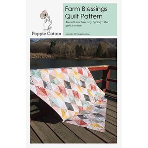KITPCN1902-TOT, Farm Blessings Quilt, by Jina Barney and Lori Woods Quiltpakket Patchworkpakket Complete Quilt met patroon