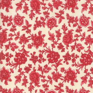 Cinnaberry by 3 Sisters for Moda 44203 11 Vanilla Cranberry quiltstof patchworkstof