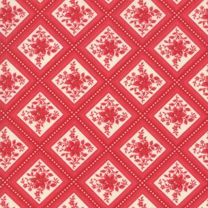 Cinnaberry by 3 Sisters for Moda 44206 14 Vanilla Cranberry quiltstof patchworkstof