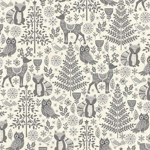 Makower Scandi Forest Animals 2125 S Quiltstof