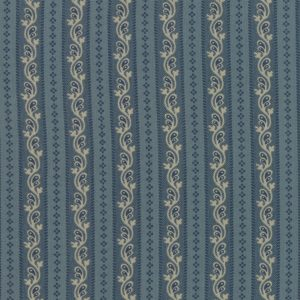 Regency Sussex by Christopher Wilson Tate for Moda 42333 15 Stiffkey Blue