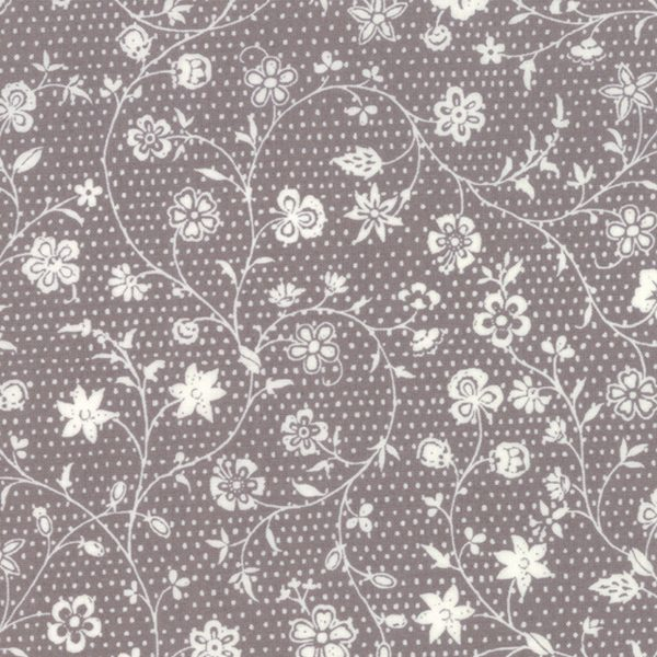 French General Fleur de Noel French Grey 13843 16 Moda