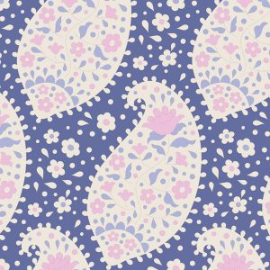 Tilda Plum Garden Collection 100191 Teardrop Blueberry
