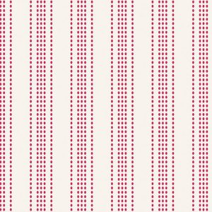 Tilda Tea Towel Basics Apple Stripe Red 130068