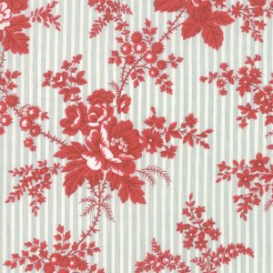 Northport Prints Blue Red 14880 11 by Minick & Simpson for Moda Quiltstof