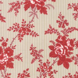 Northport Prints Red 14880 13 by Minick & Simpson for Moda Quiltstof