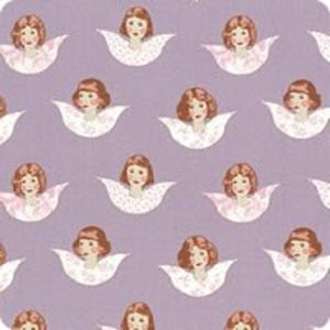 Tilda Old Rose Angel Scraps Mauve quiltstof