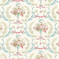 Tilda Old Rose Birdsong Dove White quiltstof