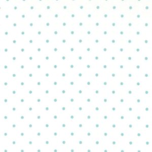 Moda Essential Dots 8654 65 White Teal