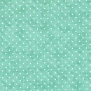Moda Essential Dots 8654 66 Teal