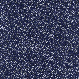 Robert Kaufman Studio Chesterfield Navy Vines yardage 18864-9