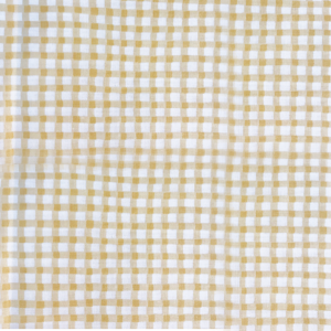 English Gingham medium MM2019 Yellow