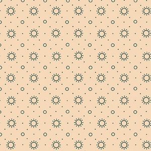Blush and Blue by Kim Diehl for Henry Glass & Co 1963-7 Cream 4706 011