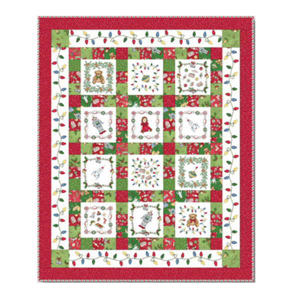 Christmas Joys Flannel Quiltpakket by Debbie Beaves