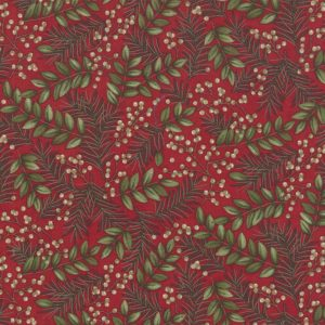 Holly Taylor Winter ManorCardinal 6772 15 Moda
