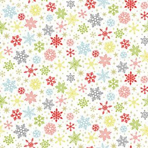 Joy 2231/W Snowflakes White Makower