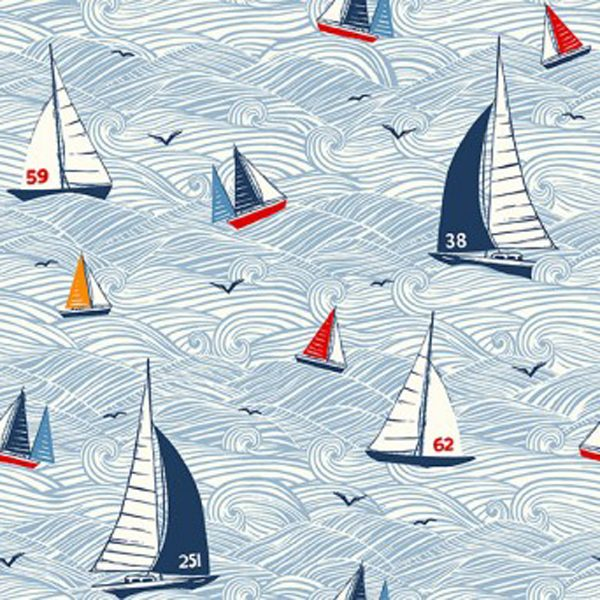 Makower Sail Away Seascape 2208 1
