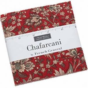 Moda French General Chafarcani Charm Pack Precuts