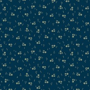 Paula Barnes Mood in Blue Blow Spring of Flowers 0722 Marcus Fabrics Us 287-15