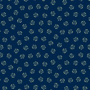 Paula Barnes Mood in Blue Tulip Dance 0727 Marcus Fabrics Us 287-13
