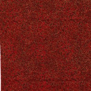 Robert Kaufman Metallic Crimson 6644 91
