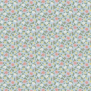 Makower Mayflower 9509 BL Quiltstof