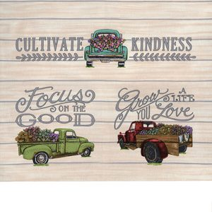 Deb Strain Cultivate Kindness Truck Tan Panel