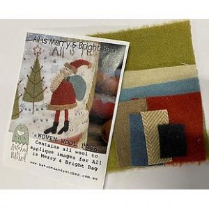 All is Merry & Bright Bag van Anni Downs voor Hatched and Patched Woolpack