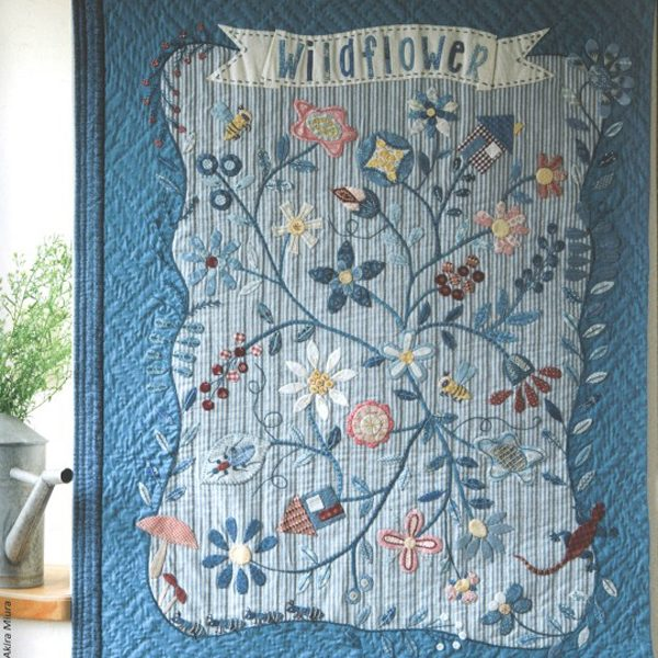 Lecien American Country Collection 31500 Wildflower Panel