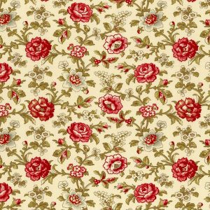 Moda French General La Rose Rouge 13883-13
