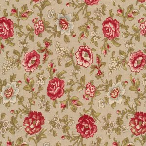 Moda French General La Rose Rouge 13883-15