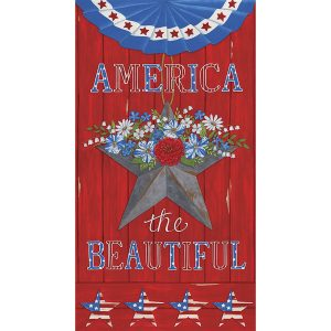 Moda Deb Strain America the Beautiful 19980 11 panel 4 van 4