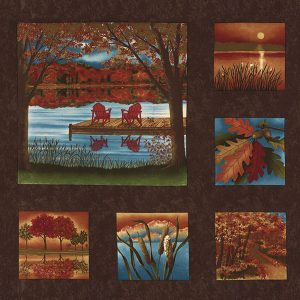 Moda Holly Taylor Autumn Reflections 6710