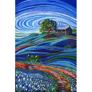 Moda Ira Kennedy Dreamscapes 51240 11D panel