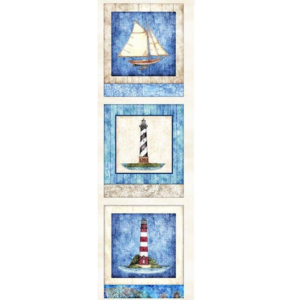 Quilting Treasures three nautical panels