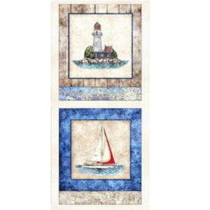 Quilting Treasures two nautical panels