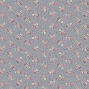 Marcus Fabrics For Rosa Marchives Roses Set R140943 0122 Med. Blue