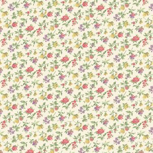Marcus Fabrics Studio 37 Laura Berringer Collectable Calicos Rose 0873-0167