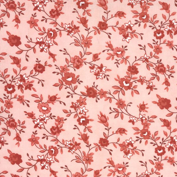 Moda Minick & Simpson Roselyn Flower Vine Rose 14912 15