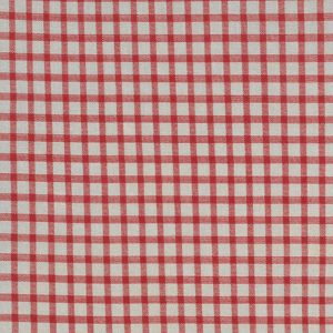Moda Minick & Simpson Roselyn Gingham Taupe Red 14918 17